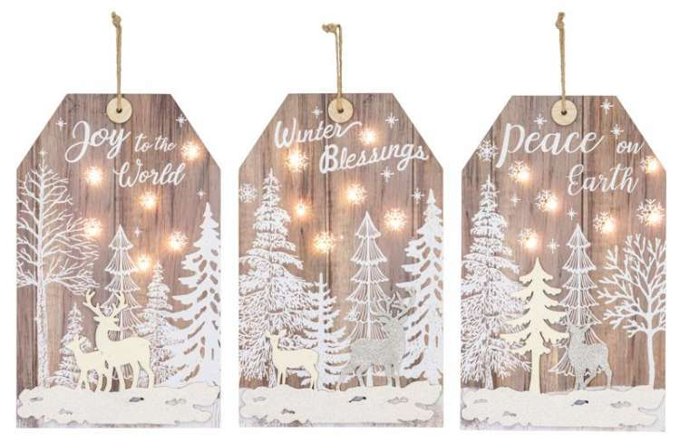 WOOD TAGS WITH LIGHTS Thumbnail