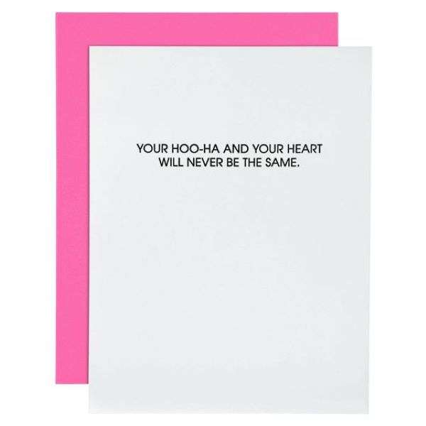 YOU'RE HOO-HA AND YOUR HEART WILL NEVER BE THE SAME CARD Thumbnail