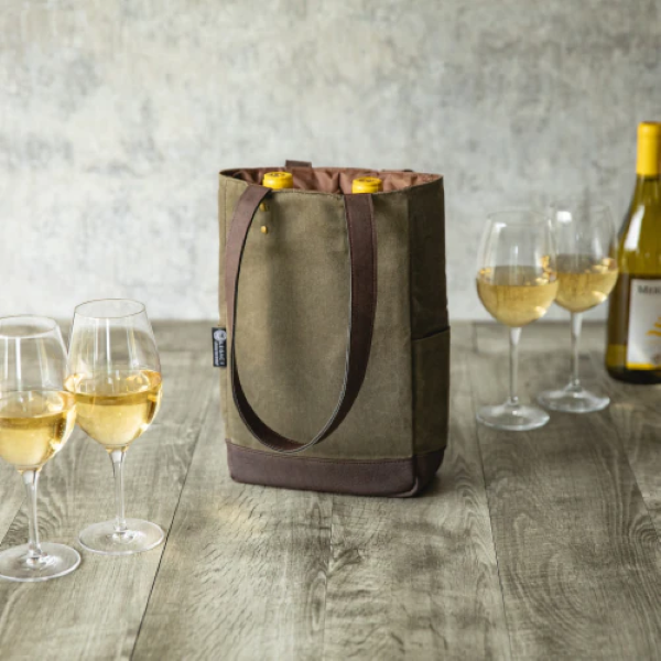 TWO BOTTLE WINE BAG Thumbnail