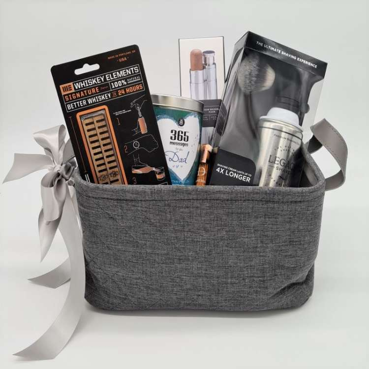 FATHERS DAY WHISKEY ELEMENTS GIFT BASKET Thumbnail