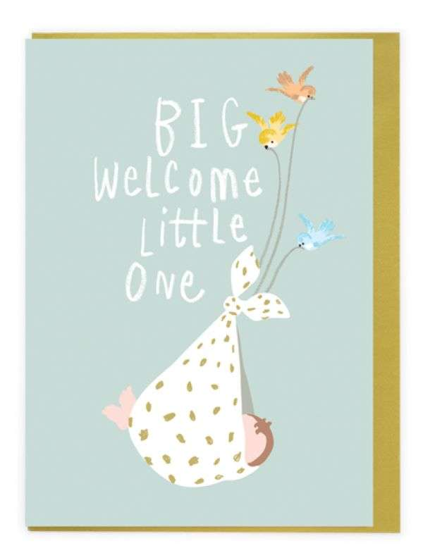 BIG WELCOME LITTLE ONE CARD Thumbnail