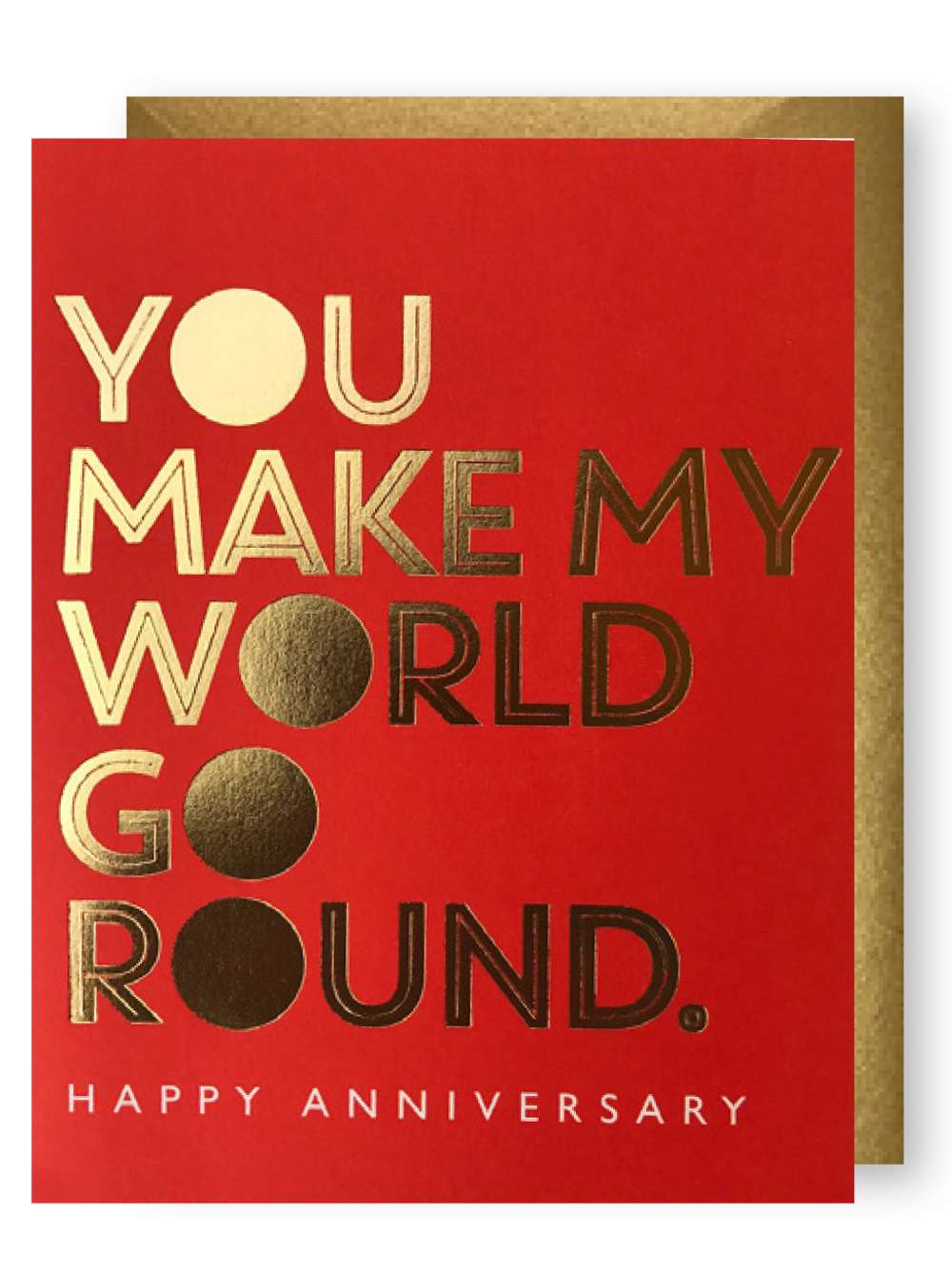YOU MAKE MY WORLD GO ROUND CARD Thumbnail