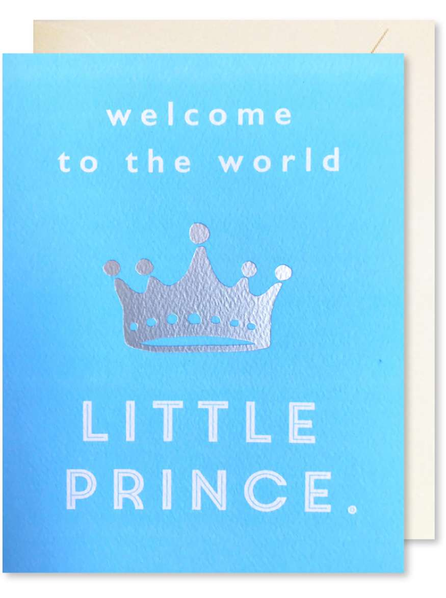 WELCOME TO THE WORLD LITTLE PRINCE CARD Thumbnail