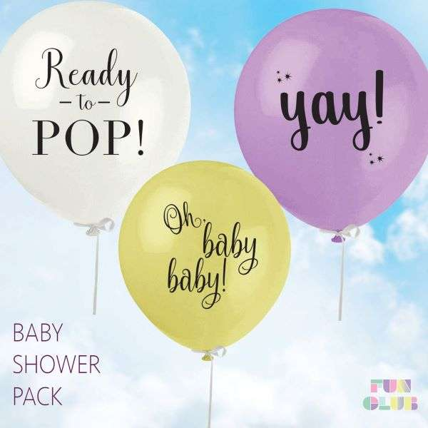 BABY SHOWER BALLOON PACK Thumbnail