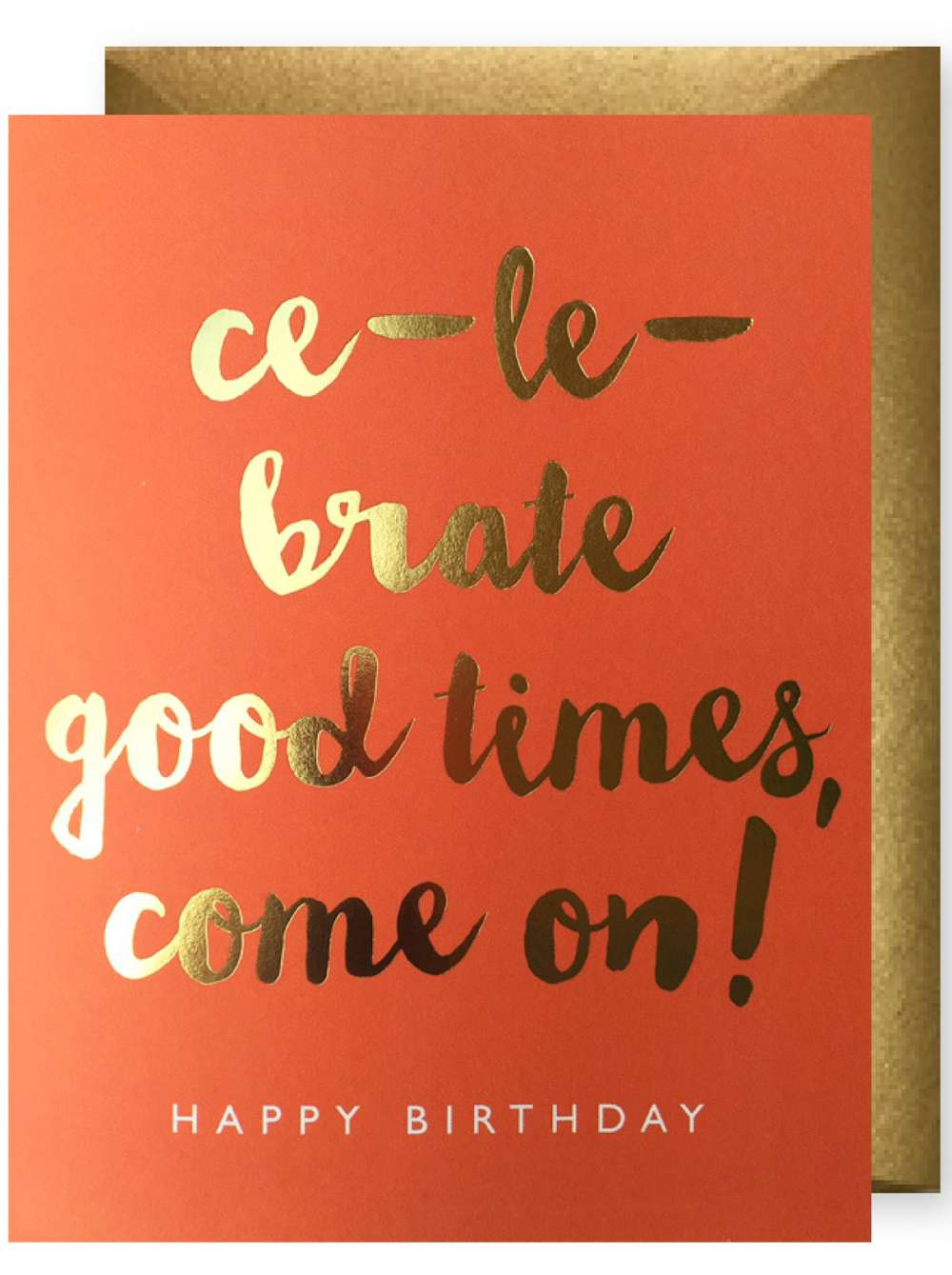 CE-LE-BRATE GOOD TIMES CARD Thumbnail