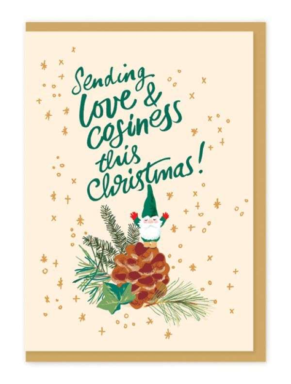 SENDING LOVE AND COZINESS CARD Thumbnail
