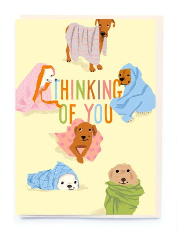 THINKING OF YOU DOGS CARD Thumbnail