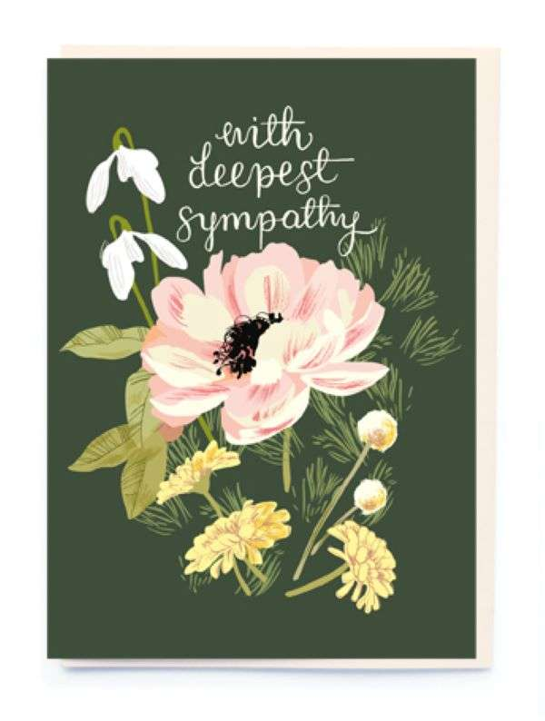 WITH DEEPEST SYMPATHY CARD Thumbnail