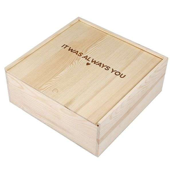 WOOD GIFT BOX - IT WAS ALWAYS YOU Thumbnail