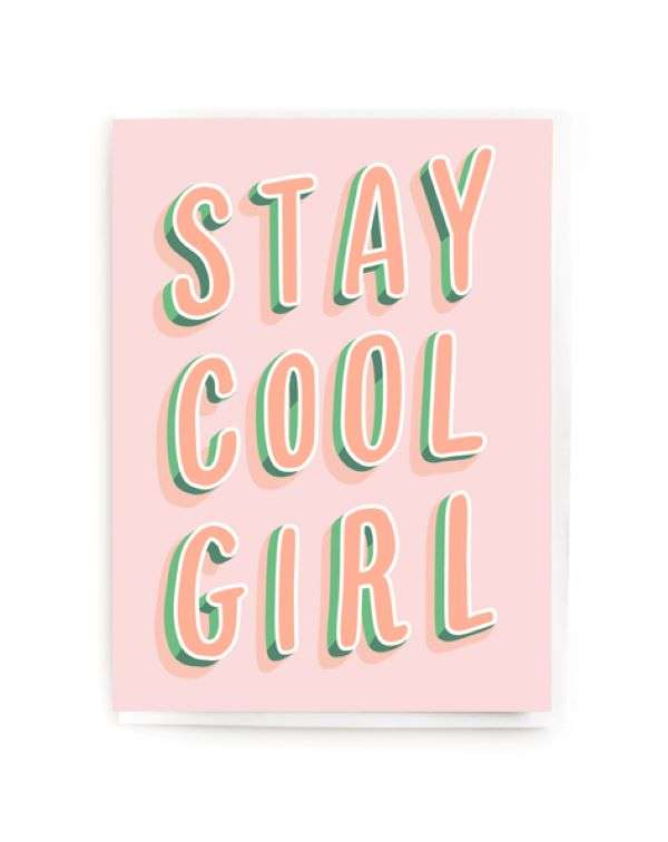 STAY COOL GIRL CARD Thumbnail