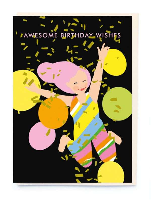 AWESOME BIRTHDAY WISHES CARD Thumbnail