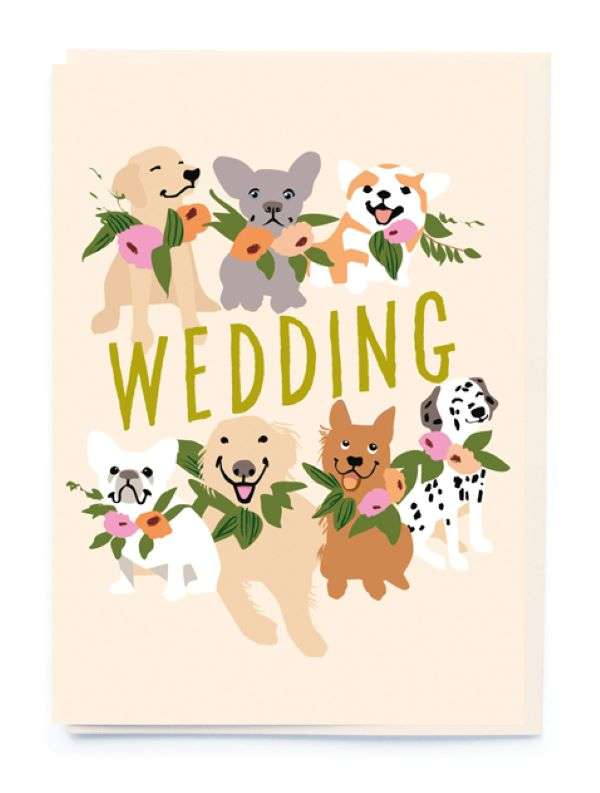 WEDDING (DOGS) CARD Thumbnail