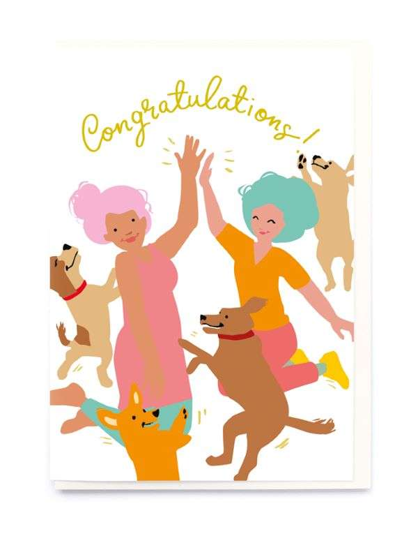 CONGRATULATIONS (DOGS) CARD Thumbnail