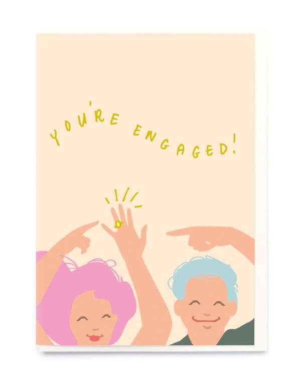 YOU'RE ENGAGED CARD Thumbnail