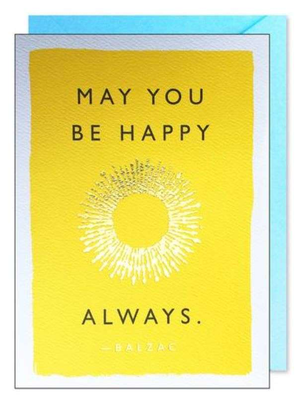 MAY YOU BE HAPPY ALWAYS CARD Thumbnail