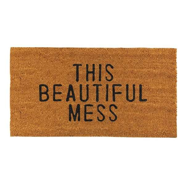 THIS BEAUTIFUL MESS DOOR MAT Thumbnail