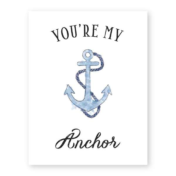 YOU'RE MY ANCHOR CARD Thumbnail