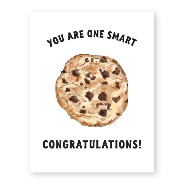 YOU ARE ONE SMART (COOKIE) CARD Thumbnail