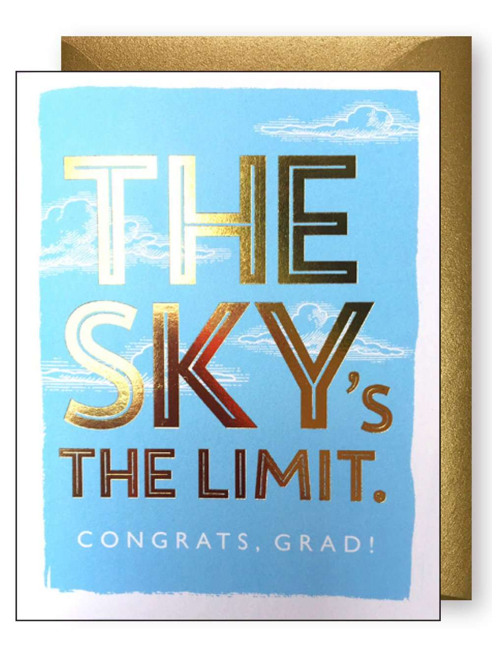 THE SKY IS THE LIMIT CARD Thumbnail