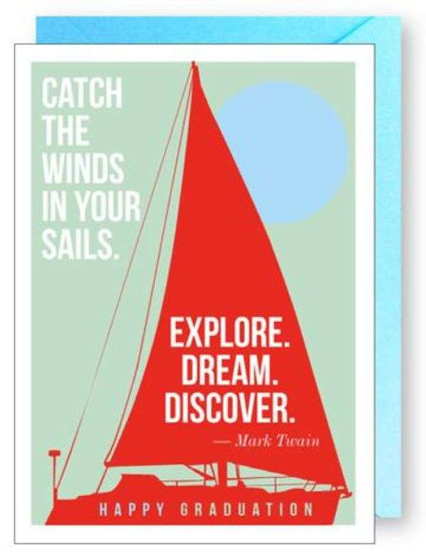 CATCH THE WIND IN YOUR SAILS CARD Thumbnail