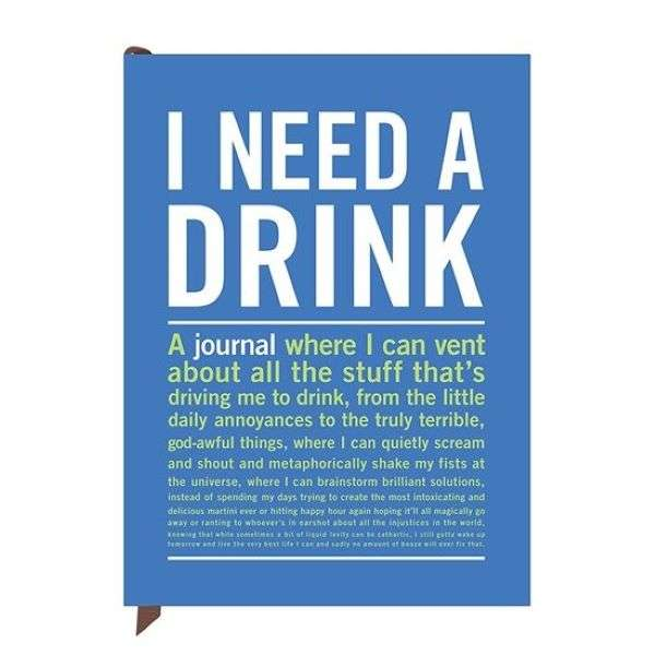 I NEED A DRINK MINI INNER-TRUTH JOURNAL Thumbnail