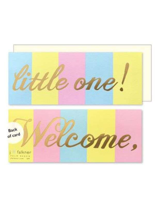 WELCOME LITTLE ONE CARD Thumbnail