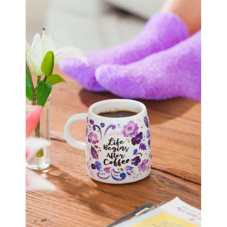 CERAMIC CUP AND SOCK GIFT SET  Thumbnail