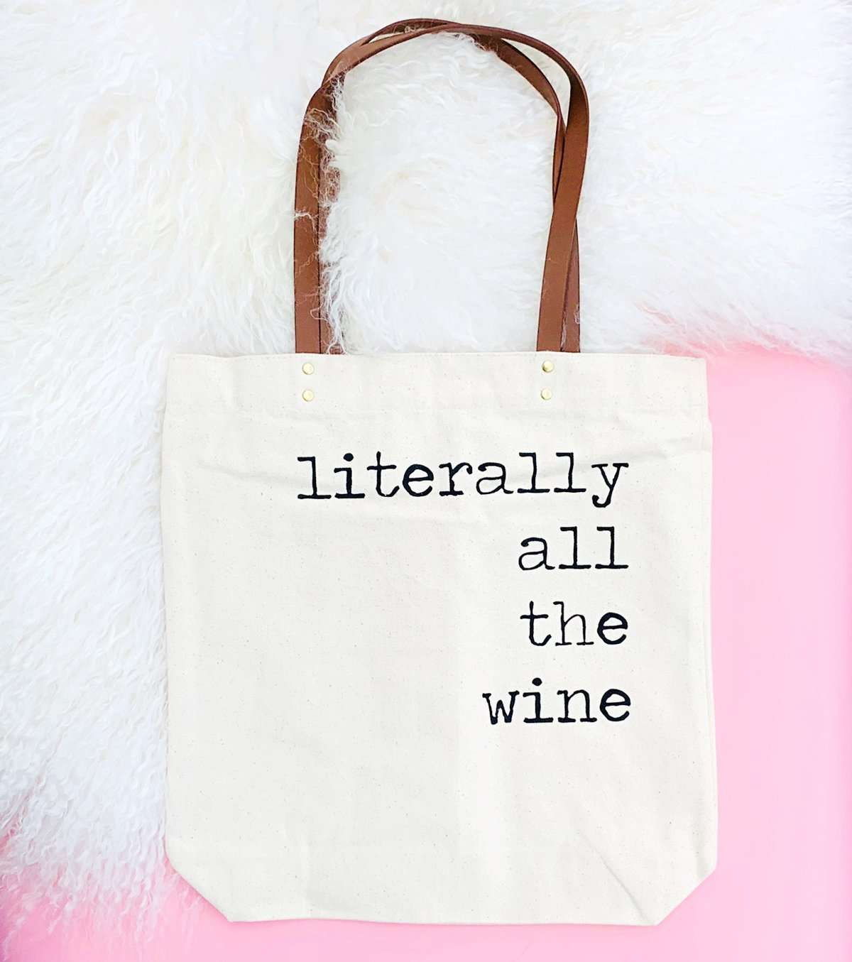 ALL THE WINE TOTE BAG Thumbnail