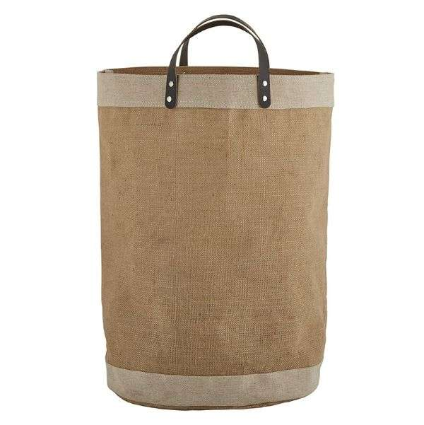 JUTE & LEATHER JUMBO BAG  Thumbnail