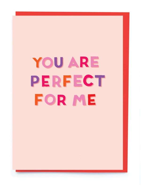 YOU ARE PERFECT FOR ME CARD Thumbnail