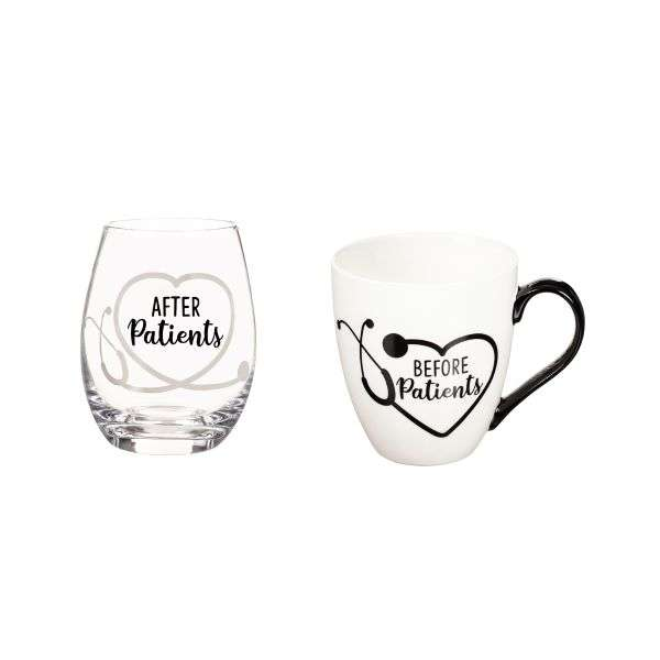 BEFORE PATIENTS MUG & GLASS SET Thumbnail