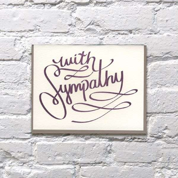 WITH SYMPATHY CARD Thumbnail