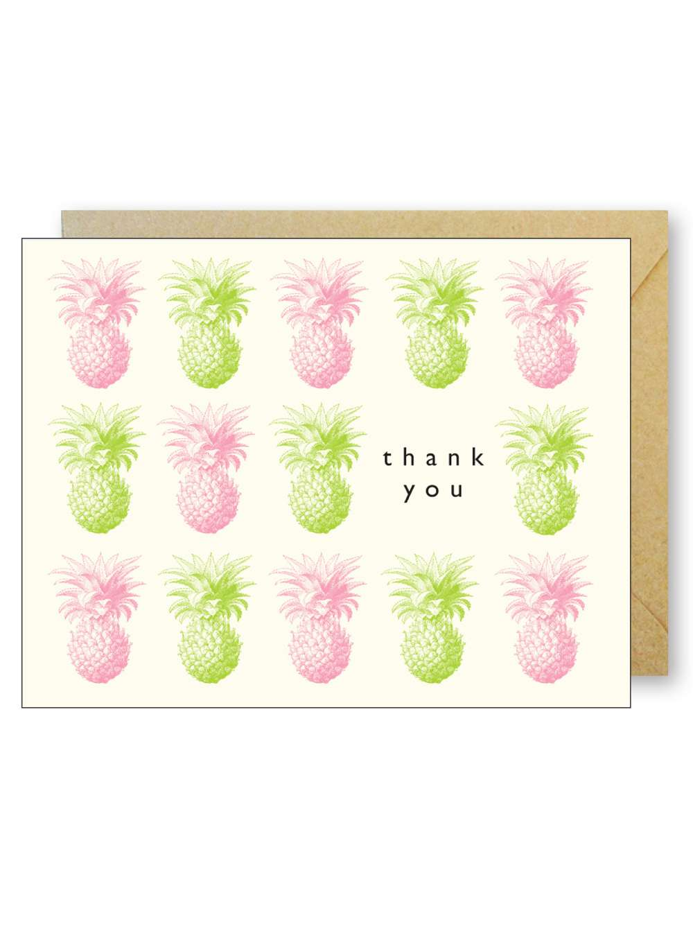 THANK YOU PINEAPPLES CARD Thumbnail