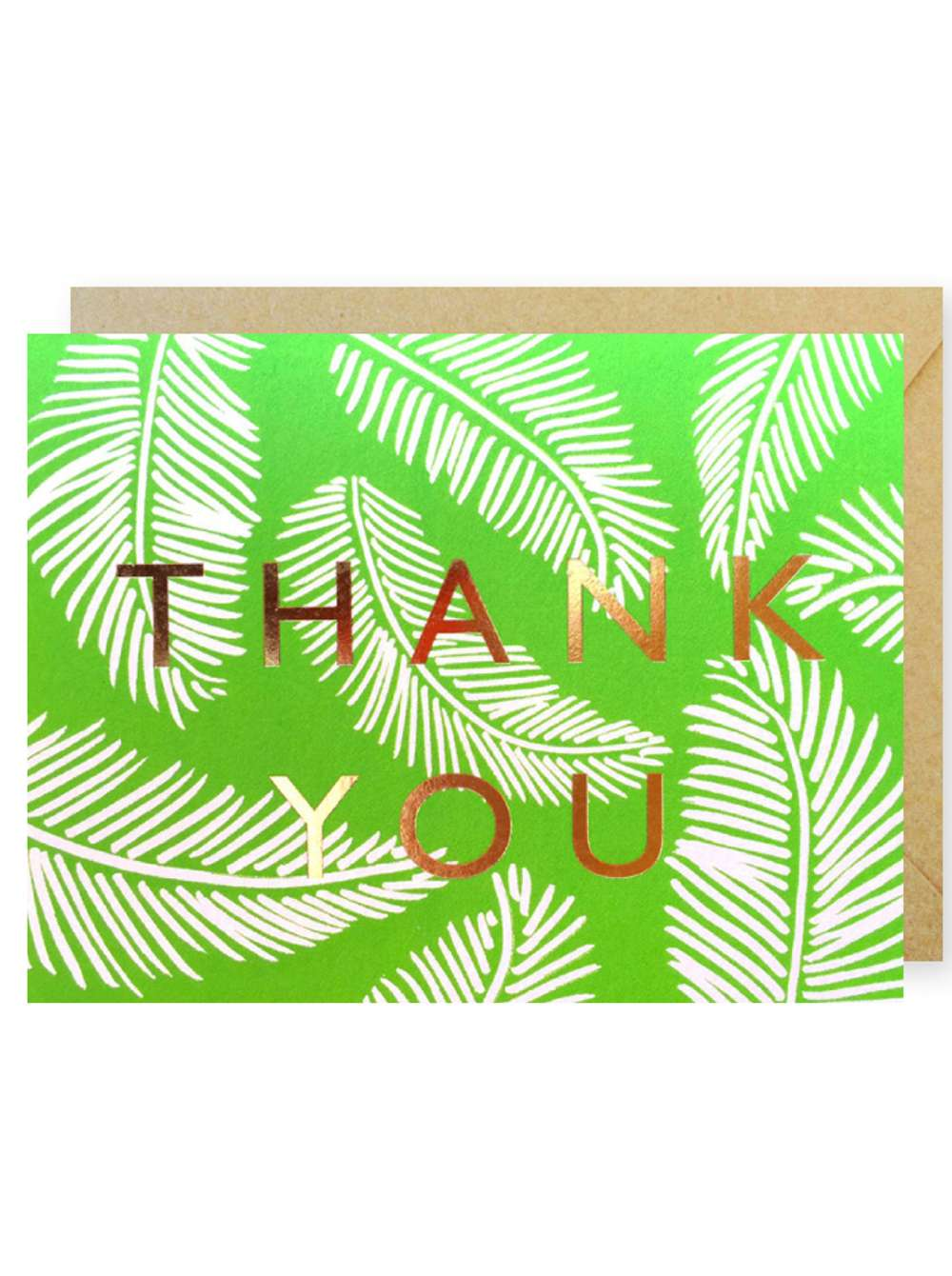 THANK YOU PALM TREES CARD Thumbnail