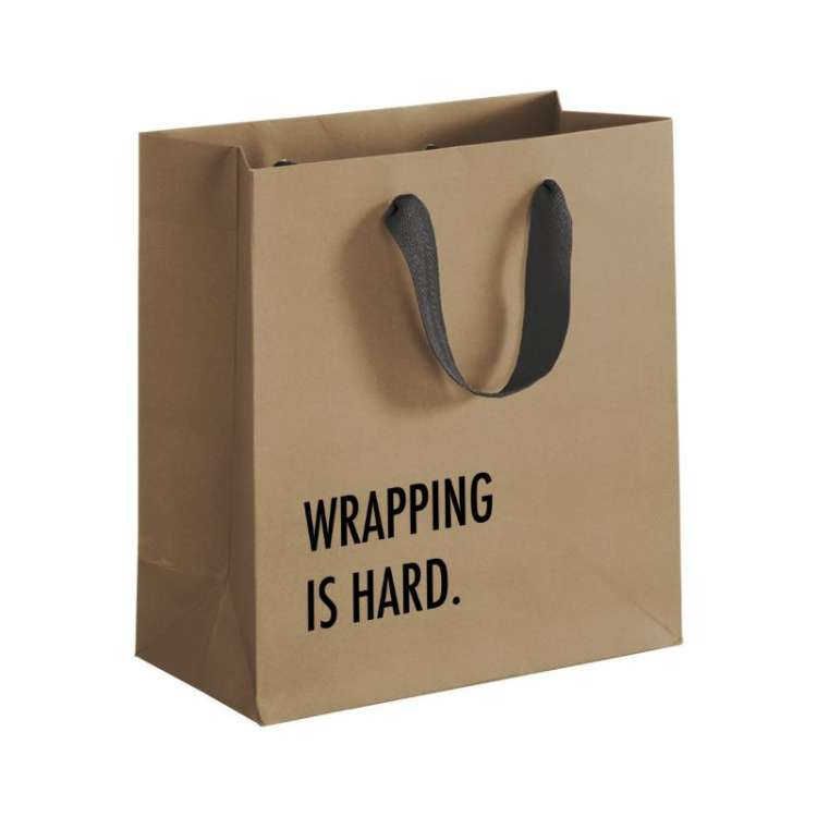 WRAPPING IS HARD BAG Thumbnail