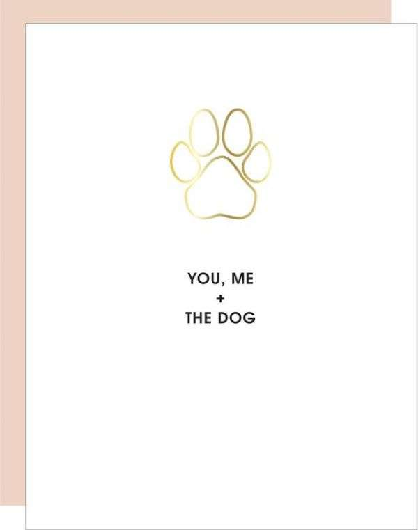 YOU, ME + THE DOG CARD Thumbnail