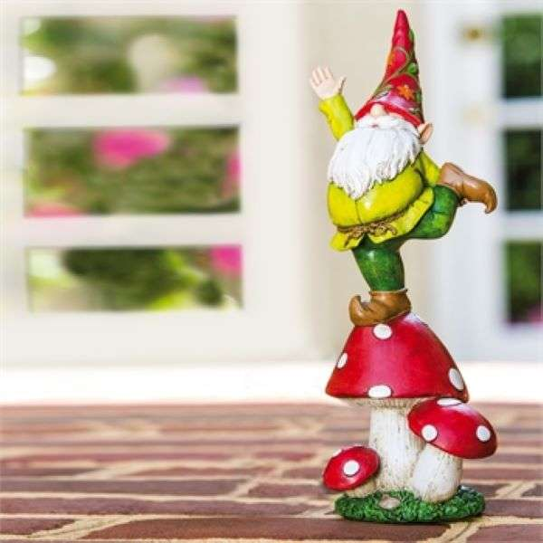 VEGETABLE GNOME STATUE YELLOW  Thumbnail
